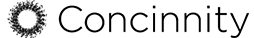 Concinnity Logo in Black