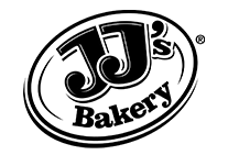 JJs Bakery logo Black and White