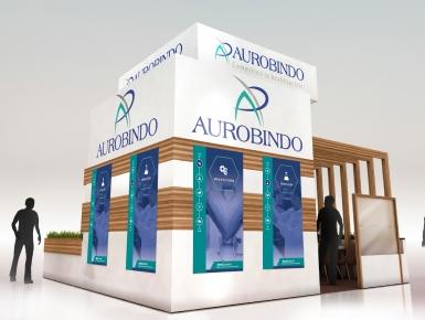 Aurobindo Trade Show Display Panels