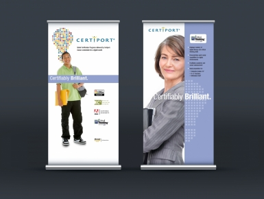 Certiport Trade Show Banners