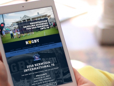 URugby Responsive Design, Tablet/iPad