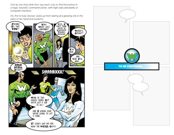 Revitas WizeGuys, reader-friendly comic-book style for revenue management software