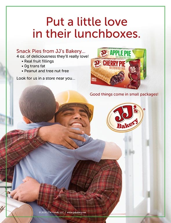 JJ's Bakery Duos, put a little love in their lunchboxes