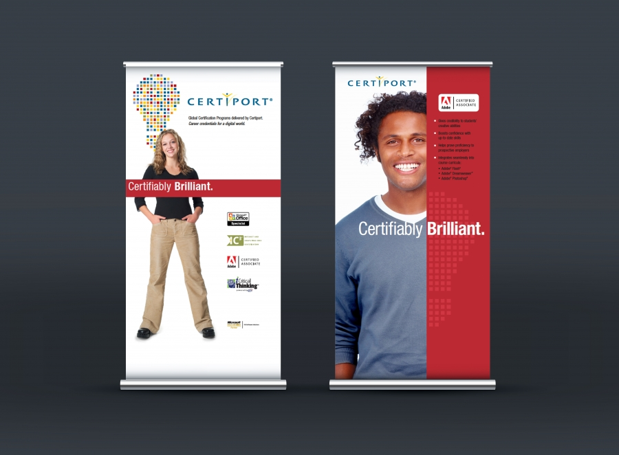 Pull-Up Banner for Certiport