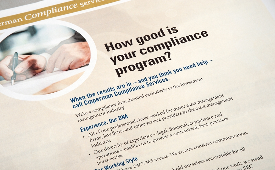 Cipperman Compliance Services Brochures