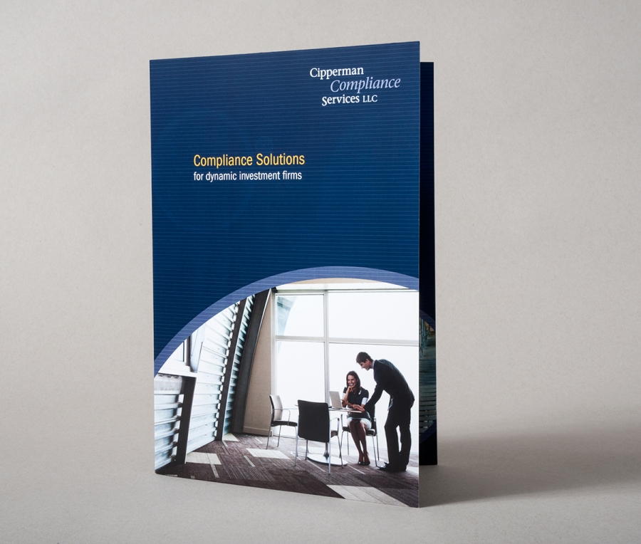 brochures and print collateral to showcase the company's expansiveclient services and experiencedoperations professionals