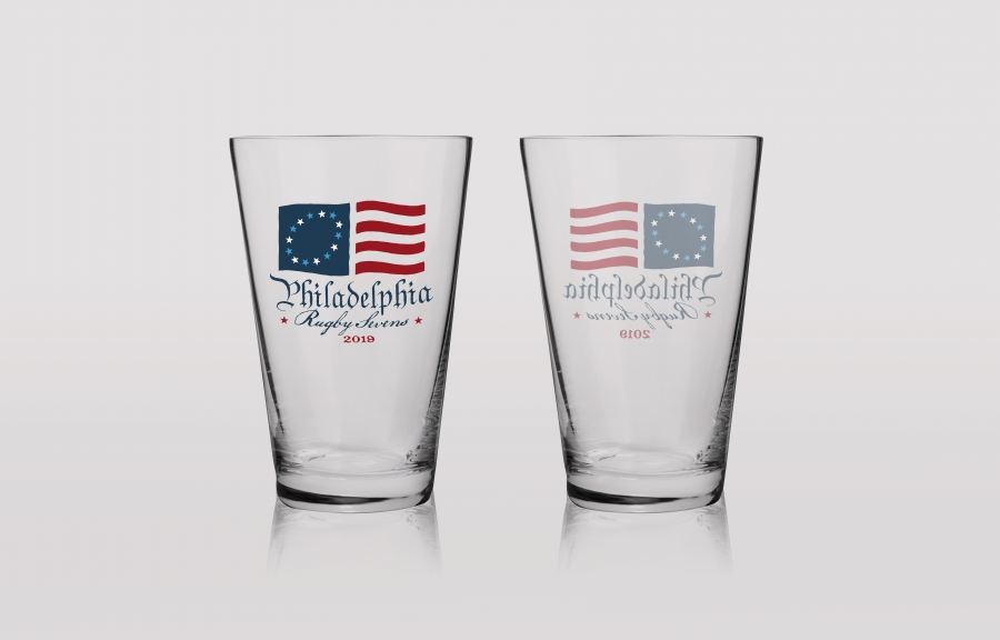 Philly 7s Rugby Tournament: Beverage Glasses