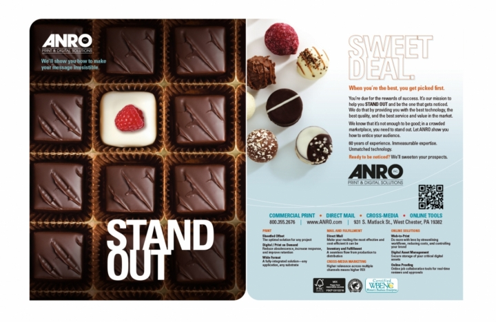 Ad Insert, Chocolate Concept