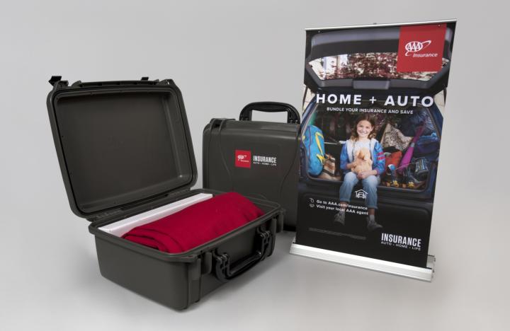 AAA Insurance Tabletop Trade Show Kit