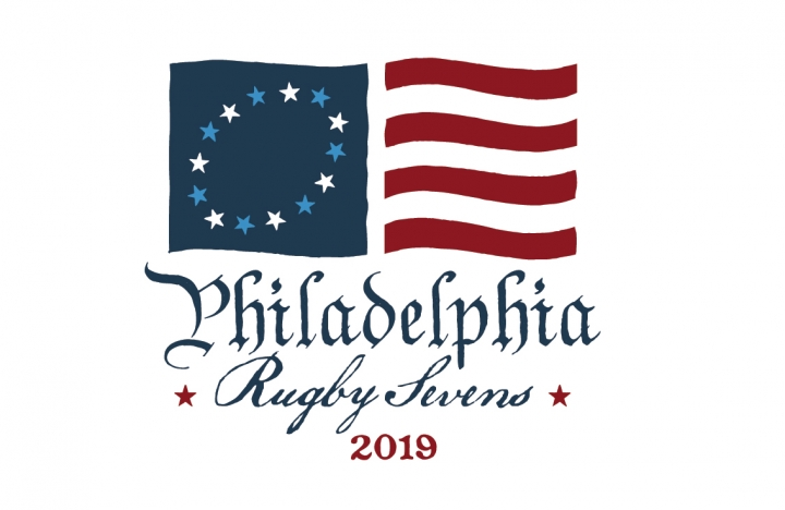 Logo for Philly 7s Rugby Tournament